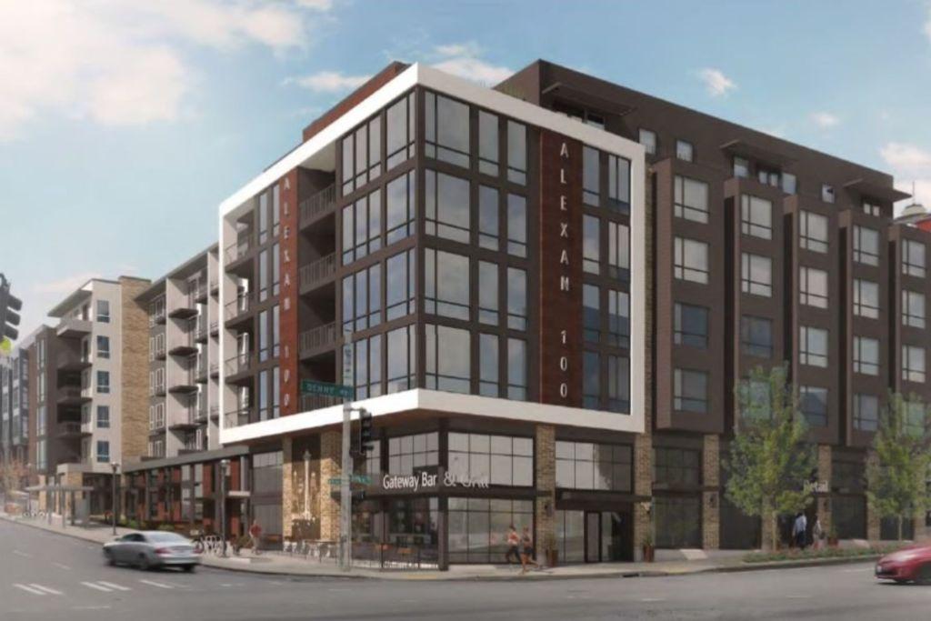 Seattle apartment community