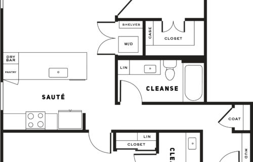 two-bedroom Seattle apartments