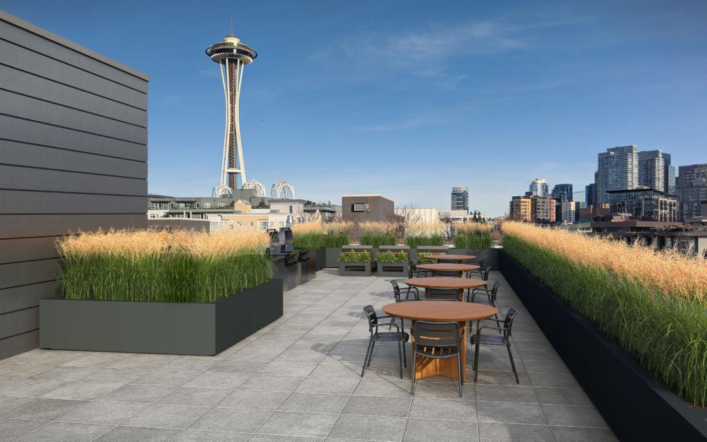 luxury Seattle apartment community