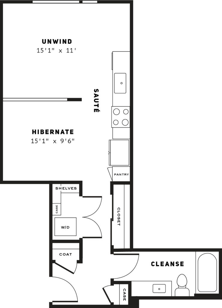 luxury Seattle studio apartments